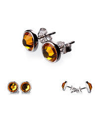 Topaz Earrings (set of 2 pcs)