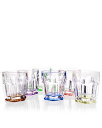 Bohemia Crystal Safari barevné sklenice na whisky7K8/99999/9/72T02/254/250ml (set po 6 ks)