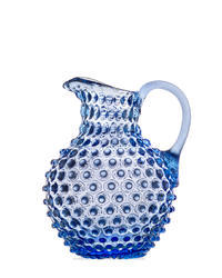 Bohemia Crystal Pitcher for beer and water 16184 / 2000ml - 31/27 light blue.