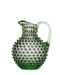 Bohemia Crystal Pitcher for beer and water 16184 / 2000ml - 51/27 light green.