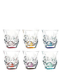Cascade colored tumblers 29C52/0/47J05/300ml (set of 6 pcs)