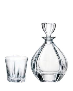 Bohemia Crystal Whisky set Laguna 99999/9/99K88/81 (set 1 karafa + 6 sklenic)