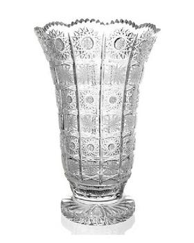 Bohemia Crystal Broušená váza 80838/57001/405mm