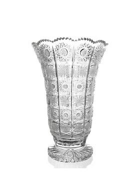 Bohemia Crystal Broušená váza 80838/57001/255mm