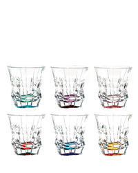 Princess  colored tumblers 29C52/0/47J06/300ml (set of 6 pcs)