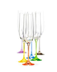 Rainbow - champagne flutes 40729/D4641/190ml (set po 6pcs)