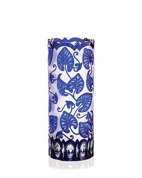 Bohemia Crystal Broušená váza 80109/M/listy/300mm