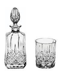 Bohemia Crystal Whisky set Sheffield 99999/52820/598   (1 karafa + 6 sklenic)