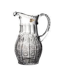 Bohemia Crystal Broušený džbán na vodu a pivo 31185/57001/1300ml