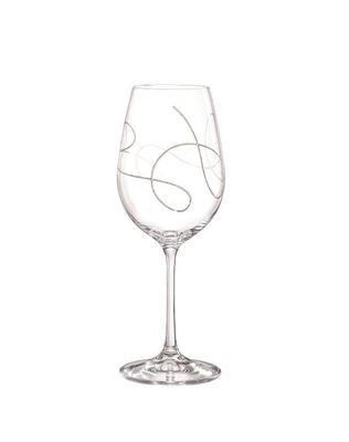 Bohemia Crystal String Wine Glasses 350ml (set of 2 pcs)