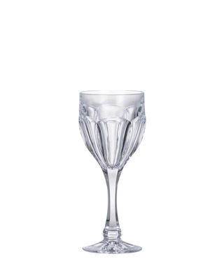 Bohemia Crystal Safari White Wine Glasses 190ml (set of 6 pcs)