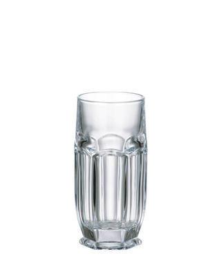 Bohemia Crystal Gläser für Wasser und alkoholfreie Getränke Safari 300 ml (Set mit 6 Stück)