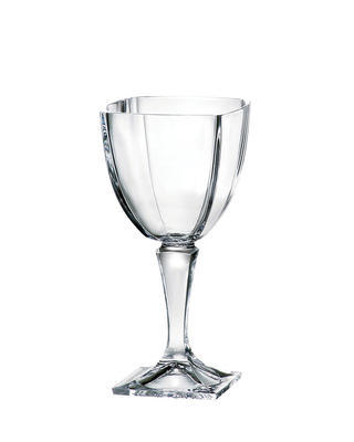 Bohemia Crystal Arezzo Wine Glasses 270ml (set of 6 pcs)