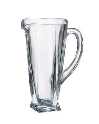 Bohemia Crystal Džbán na vodu a pivo Quadro 3K735/0/99A44/1100ml
