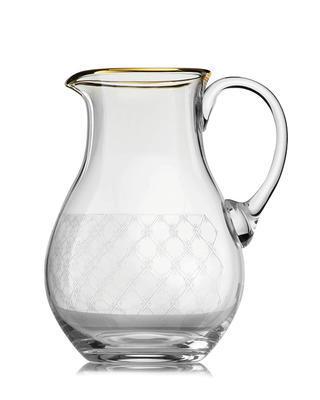 Bohemia Crystal Džbán na vodu a pivo se zlatým dekorem 1500ml