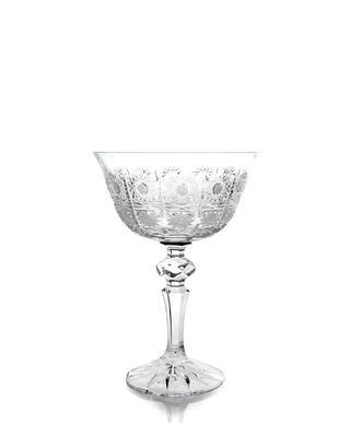 Bohemia Crystal Laura Hand Cut Champagne Glasses PK500/180ml (set of 6 pcs)