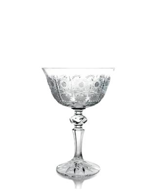 Bohemia Crystal Broušené sklenice na šampaňské Laura 180ml (set po 6ks)