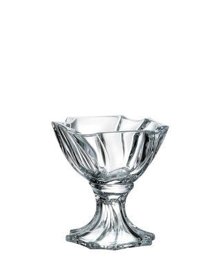 Bohemia Crystal Neptune Footed Bowl 19,5cm