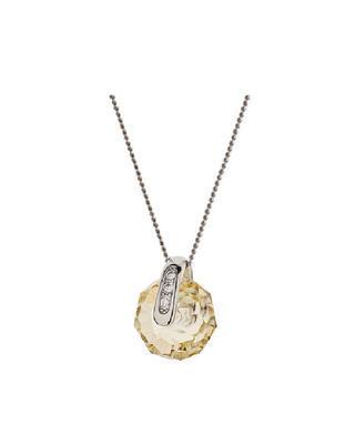Bohemia Crystal Silberanhänger Plejáda Preciosa Pend.Ag925/Rh,bl.flare 6496 61S