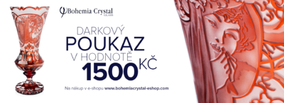 Gift voucher worth 1500 CZK