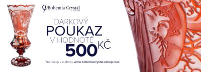 Dárkový poukaz v hodnotě 500 CZK