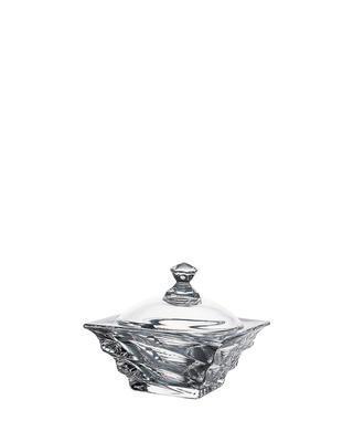 Bohemia Crystal box with lid Casablanca 115mm