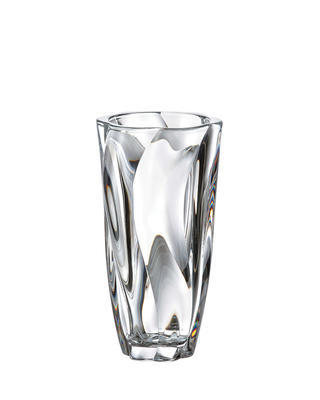 Bohemia Crystal Vase Barley Twist 255 mm