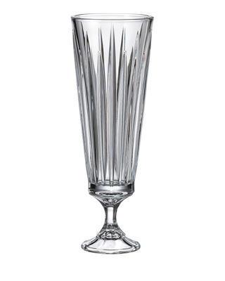 Bohemia Crystal Vase mit Bein Nova Venus 370 mm