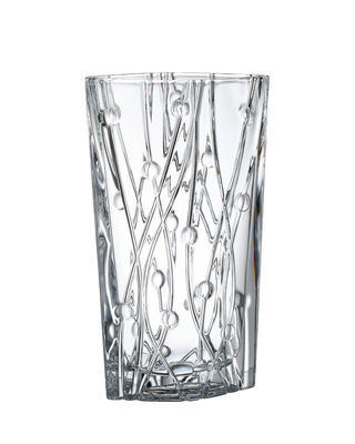 Bohemia Crystal Labyrinth vase 305mm