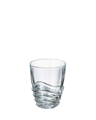 Bohemia Crystal Wave whiskey tumbler 280ml (set po 6ks)