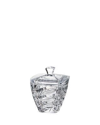 Bohemia Crystal Dose mit Deckel Facet 180 mm