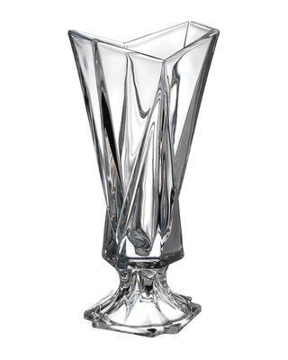 Bohemia Crystal váza na nôžke Origami 405mm
