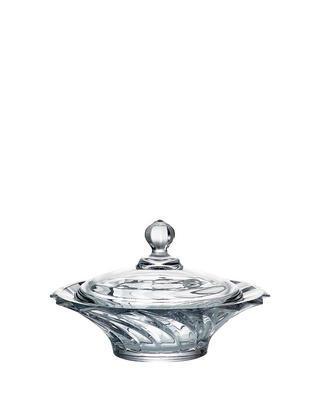 Bohemia Crystal dóza s viečkom Picadelli 210mm