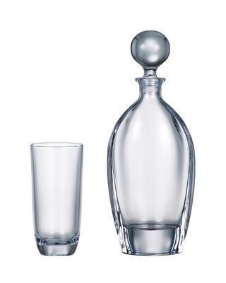 Bohemia Crystal set na vodu Orbit (1 karafa + 6 pohárov)