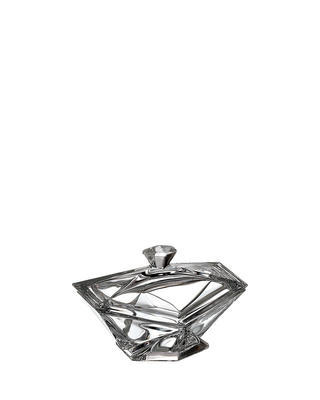 Bohemia Crystal Origami box with lid 160mm
