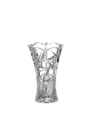 Bohemia Crystal Vase Nova Pinwheel 205 mm