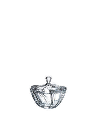 Bohemia Crystal box with lid Neptune 130mm