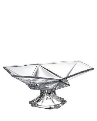 Bohemia Crystal Schüssel mit Bein Origami 355 mm