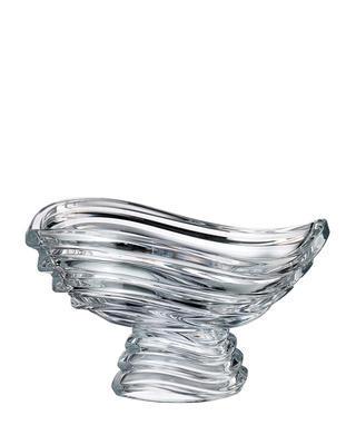 Bohemia Crystal Schüssel mit Bein Wave 305 mm