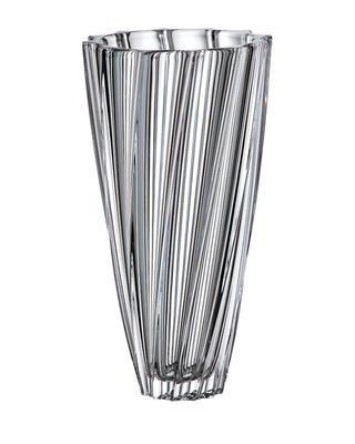 Bohemia Crystal Vase Scallop 355 mm
