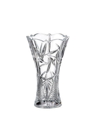 Bohemia Crystal Váza Nova Pinwheel 250mm
