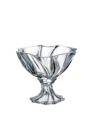 Bohemia Crystal footed bowl Neptune 255mm