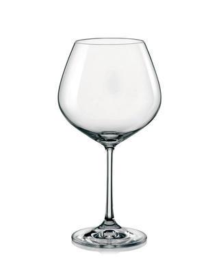 Bohemia Crystal Rotweingläser Viola 40729/570 ml (Set mit 6 Stück)