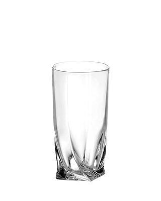 Bohemia Crystal Quadro HB Tumblers 2K936/0 /99A44/350ml (set of 6 pcs)