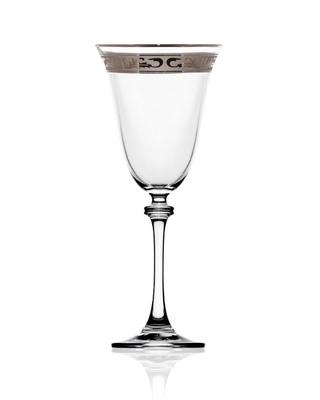 Bohemia Crystal Sklenice na víno Alexandra 250ml (set po 6ks) SLEVA-poškozená krabice - 1