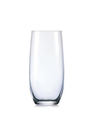Bohemia Crystal Sklenice na nealko nápoje a vodu Juliette Club 350ml (set po 6ks)