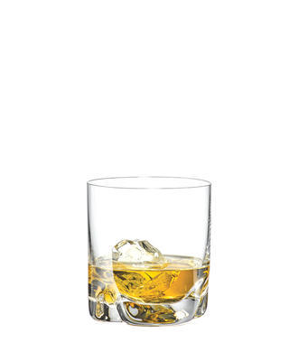 Bohemia Crystal Bar-Trio Whiskey Tumblers  280ml (set of 4 pcs)