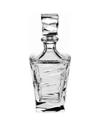 Bohemia Crystal Karafa na whisky Zig Zag 750ml