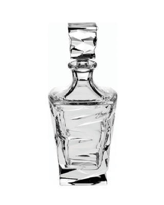 Bohemia Crystal Zig Zag Whiskey Decanter 750 ml