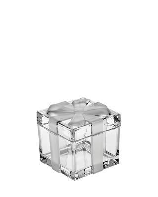 Bohemia Crystal darčeková dóza s vrchnákom 72mm